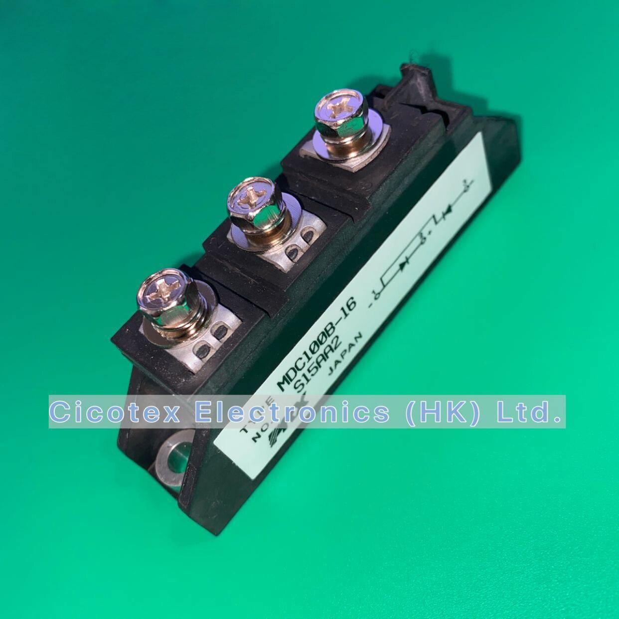 MDC100B-16 igbt mdc100 B-16 módulo de diodo de potência série mdc100 são projetados para vários circuitos retificadores mdc100b16 mdc 100b-16