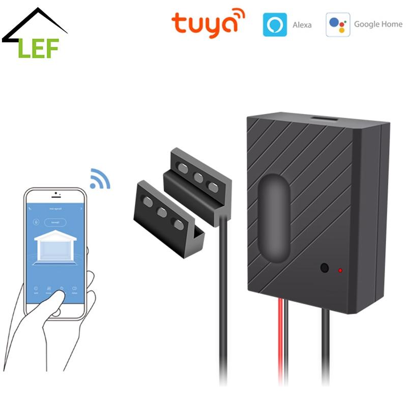 جهاز فتح باب المرآب متصل بشبكة WiFi ، جهاز تحكم عن بعد متوافق مع Alexa و Echo و Google Home و Smart Life و Tuyasmart و IOS و Android