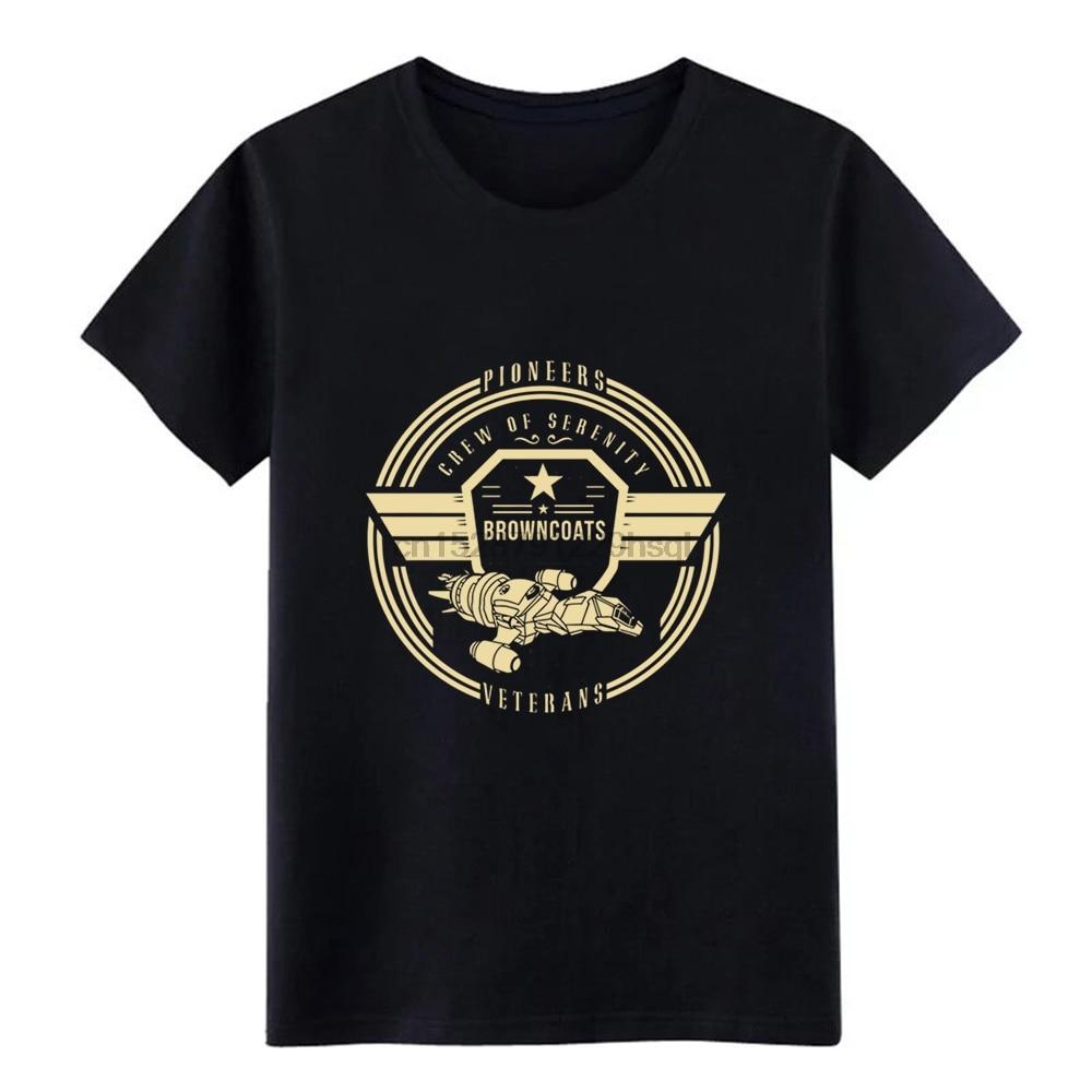 Men Crew of Serenity Firefly t shirt Customized tee shirt Crew Neck Family Cute New Fashion Spring Autumn Pattern shirt
