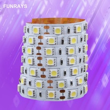 12v Led Rgb ampoules led 5M PAS Étanche Carte Nue Smd 5050 maison Jardin Décor Industriel 60leds Discount