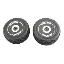 2pcs 1/12 Scale RC Rear Wheel Tires RC Car Replacements Parts Accessory for WLtoys 124018-1841