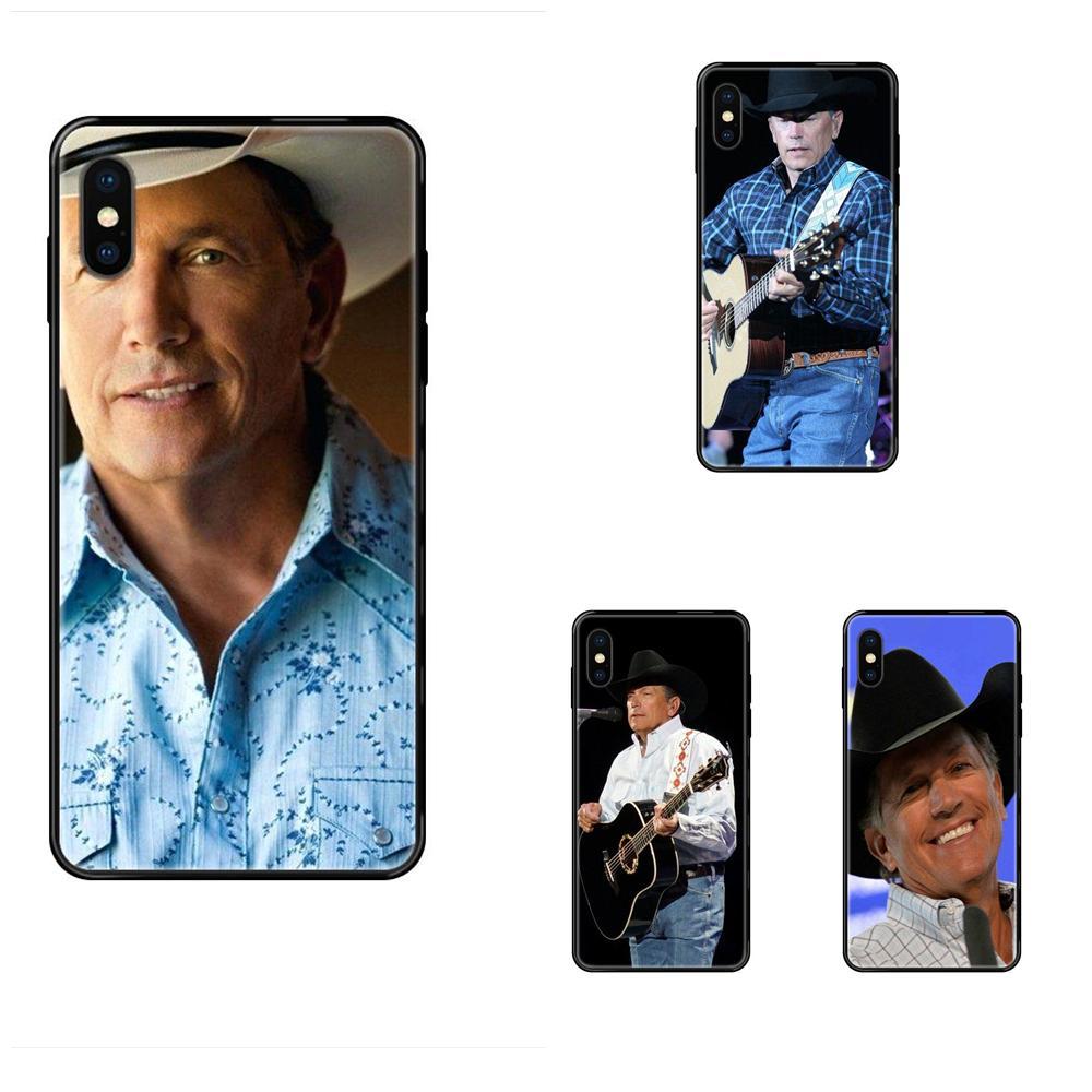 For iPhone SE2020 11 12 Plus Pro X XS Max XR 8 7 6S SE 5 5C 5S TPU Fashion Cell Case George Harvey Strait American Music