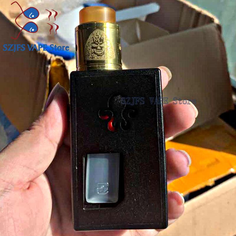 VEX100 Vape Box Mod subtwo Atomizer E Cig fit 21700/20700/18650 Battery 510 Thread 0.002s Firing Vapor Box e Cigarette vape mod predator squonk box mod e cigarette vape box mod power by dual battery 18650