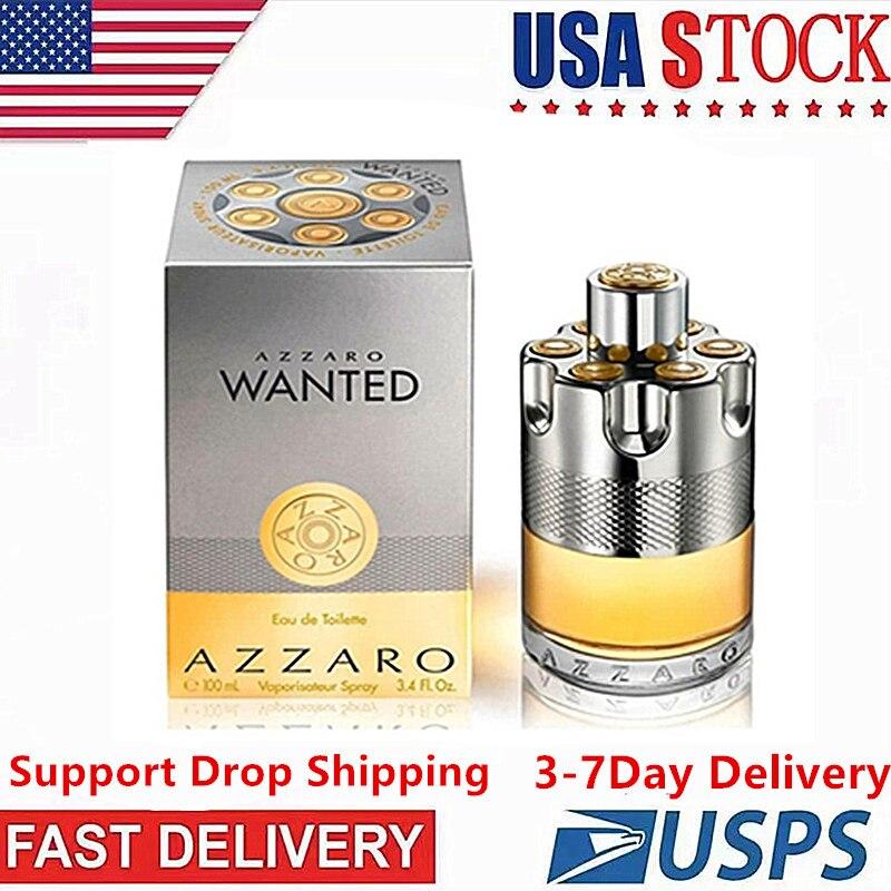 Men Original Parfumes  AZZARO  EAU DE TOILETTE  Long Lasting French Cologne Antiperspirant Fragrance Parfum Spray Homme jil sander 75187 3 4 oz sun delight eau de toilette spray