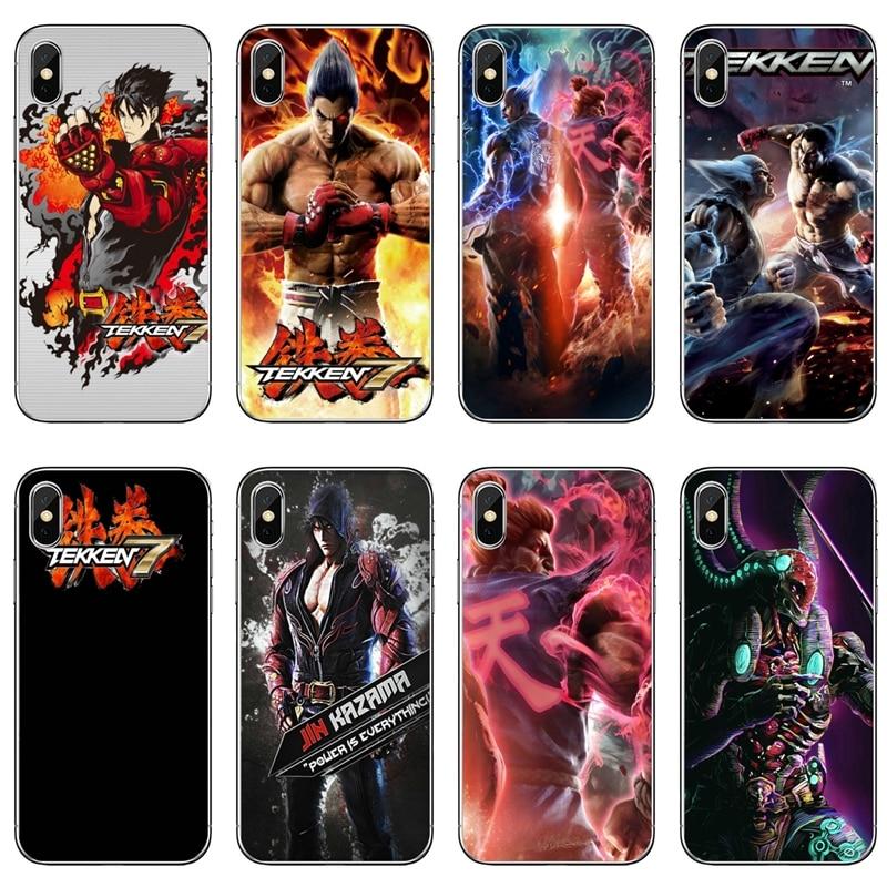Juegos de Tekken 7 caso de la cubierta para Xiaomi Redmi Note 7 6 6A 5A 4 4A 3 pro S2 5 plus 4x teléfono móvil F1 caso