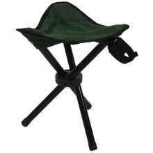 Opvouwbare Statief Kruk Outdoor Draagbare Camping Seat Lichtgewicht Vissen Stoel NIEUWE