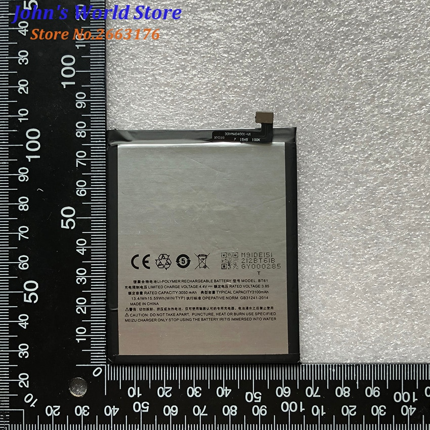 Meizu M3 Note Battery BT61 4000mAh High Quality Back Up Battery Replacement For Meizu M3 Note Pro Prime