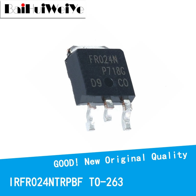 10PCS/LOT IRFR024NTRPBF IRFR024N IRFR024 55V/17A TO-252 New and Original IC Chipset MOSFET MOSFT TO252 new original 30pcs lot 78m05 to252 7805 750ma