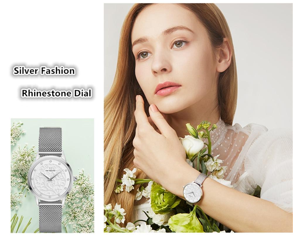 2020 New Arrival Quartz Watch Women 32MM Crystal Dress Fashion Girl Watch Japan GL20 Movement Waterproof Elegant Relogio Female enlarge