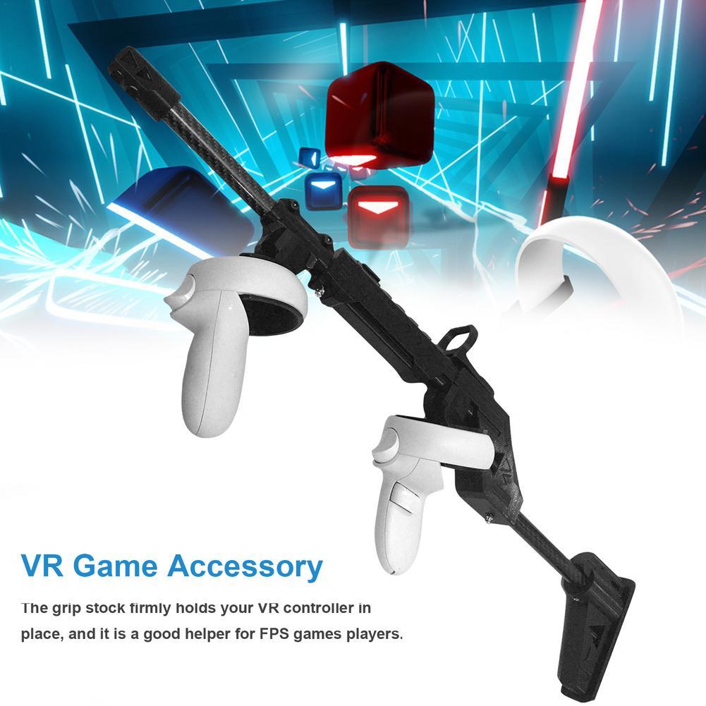 بندقية مغناطيسية من أجل كوة كويست 2 ملحقات الواقع الافتراضي VR لعبة اطلاق النار قبضة مع حزام اطلاق النار حامل تعزيز تجربة الألعاب