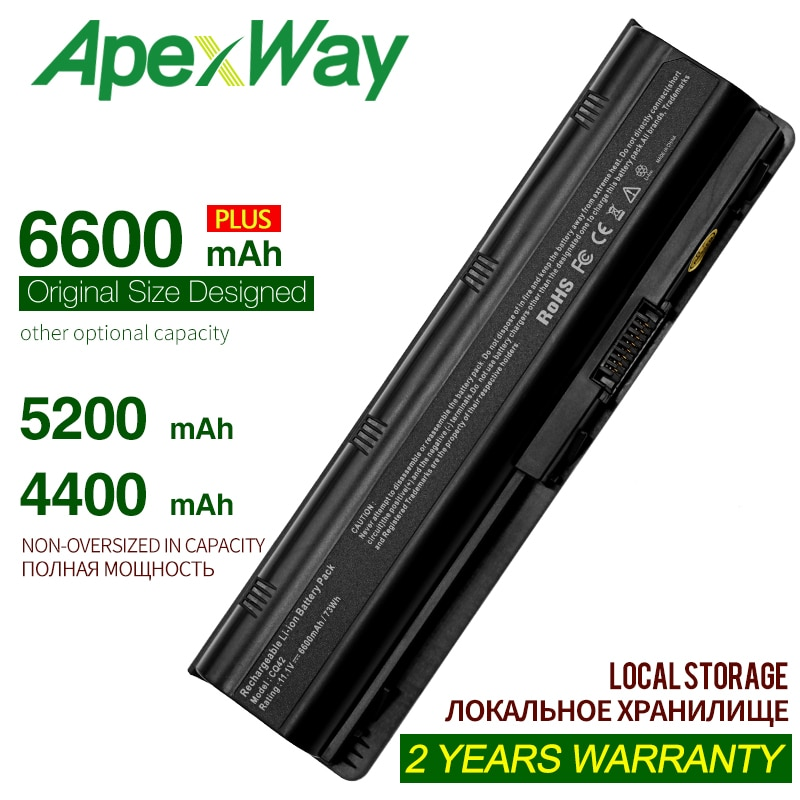 6cells mu06 Black Laptop battery for HP Notebook PC 593553-001 for Pavilion g4 G6 G7 G32 cq42 593562-001 dm4 dv6 MU09 HSTNN-LB0W znovay mu06 laptop battery for hp pavilion g4 g6 g7 cq42 cq32 g42 cq43 cq62 g32 dv6 dm4 g72 593562 001battery mu09 10 8v 47wh
