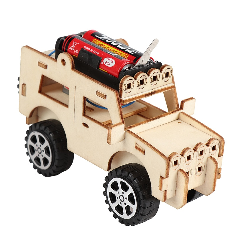 Student DIY remote control racer assembled model remote control educational toy material kit children's educational toy