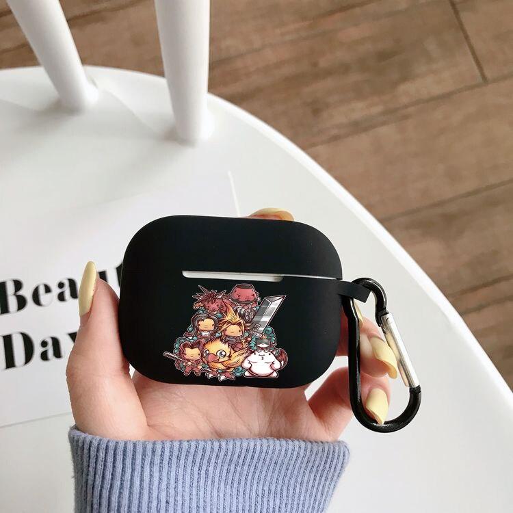 Чехол для наушников Airpods Pro с игрой аниме финальная фантазия, чехол для беспроводного Bluetooth Apple Airpods Pro, чехол, силиконовый чехол чехол
