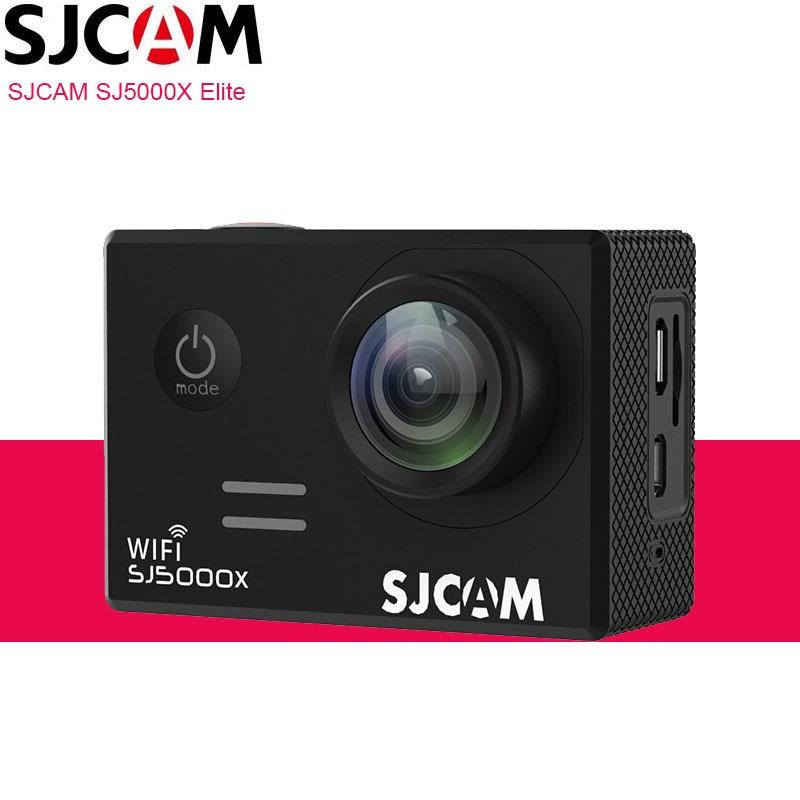 Original SJCAM SJ5000X Elite 4K caméra daction WiFi plongée 30M étanche 1080P HD NTK96660 Gyro 2.0 écran SJ CAM 5000 Sports DV