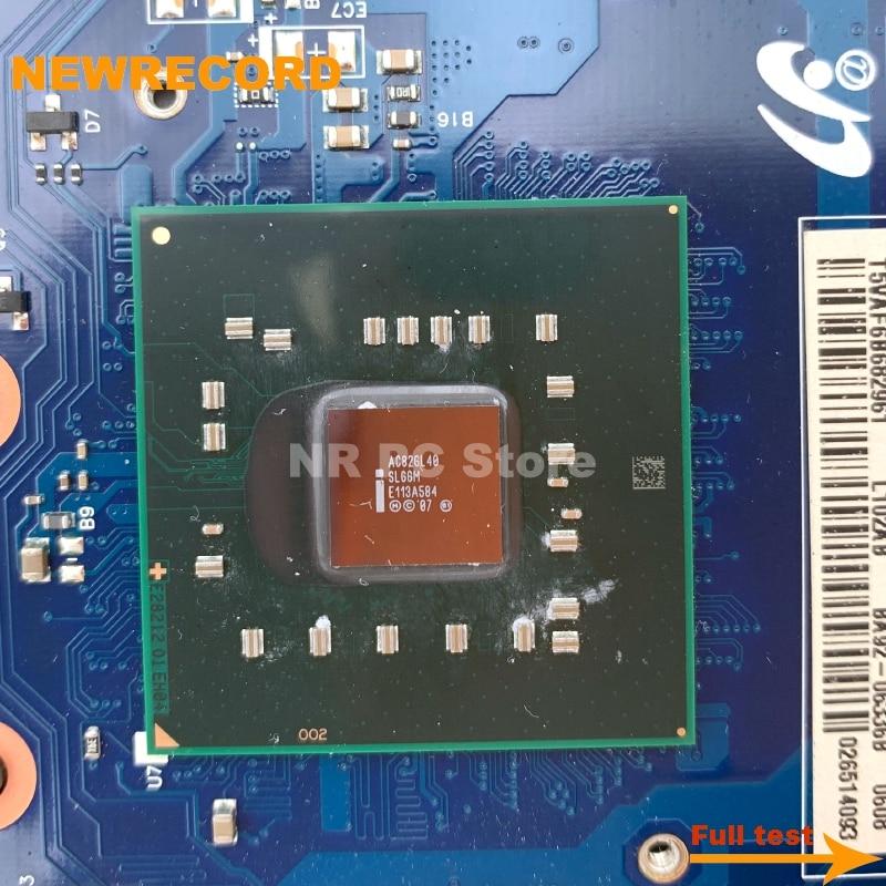 Купить с кэшбэком NEWRECORD For Samsung NP-R530 R530 Laptop motherboard BA92-06340B BA92-06340A BA92-06336A BA92-06336B BA41-01223A DDR3 free CPU