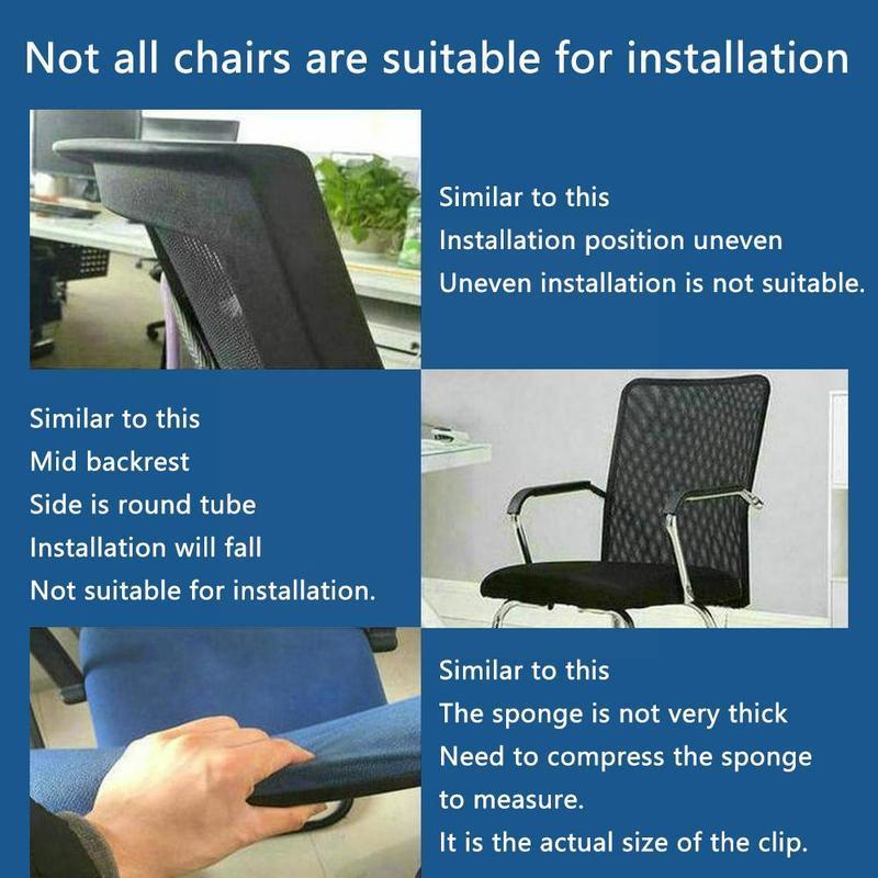 Регулируемый подголовник для офисного кресла, поворотная подъемная Подушка, офисное кресло, компьютерные аксессуары для шеи, подголовник ...