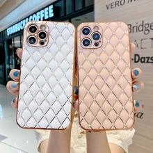 Чехол для телефона iPhone 11 Pro Max X XR XS Max 7 8 Plus 12 Pro Max, Роскошный чехол с алмазным покрытием
