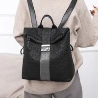 pu womens shoulder bag simple large capacity backpack bright drill shoulder womens bag purses and handbags luxury designer