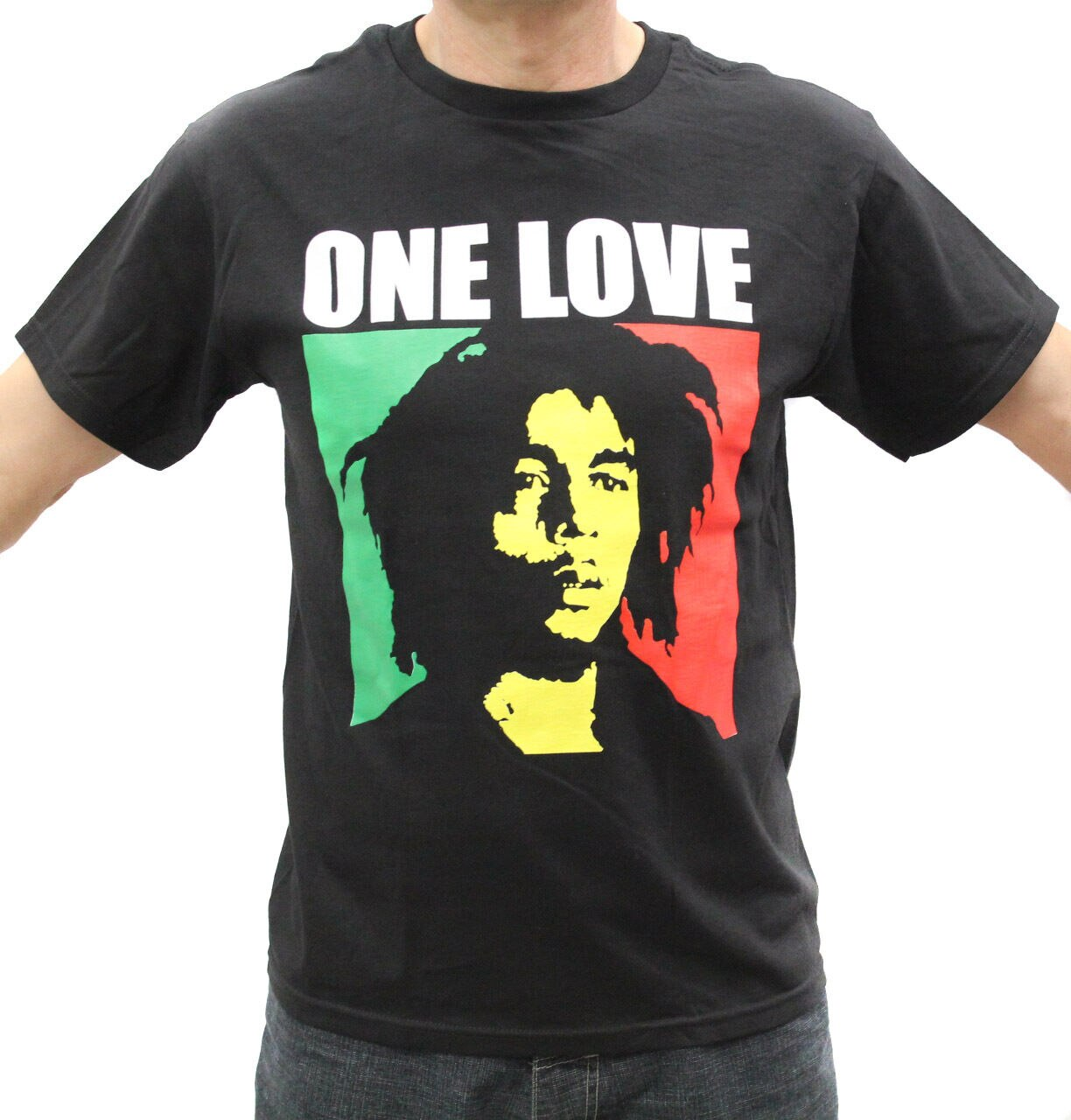 Bob Marley One Love Rasta T camisas
