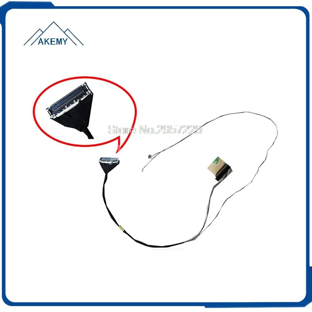Cable LCD LVDS para For Asus K56 K56C K56CM K56CA K56CB K56E S56C cable de vídeo de pantalla portátil 14005-00600000 placa madre