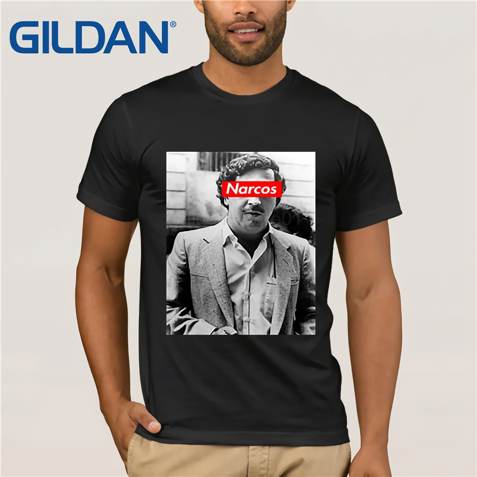 Camisa feita sob encomenda de pablo escobar narcos t, arte de rua inspirou a camisa de t, camisa de streetwear, camiseta hypebeast, camisa engraçada de t
