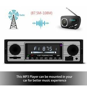 Vintage Car Wireless Radio MP3 Player Stereo USB/AUX Classic Stereo Audio FM Modulator Car Accessories