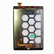 100% probado para Samsung Galaxy Tab SM-T550 T551 T555 pantalla LCD con sensores de digitalizador de pantalla táctil Panel de montaje completo
