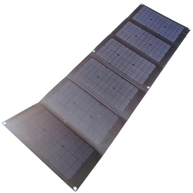 90 واط 100 واط 120 واط للطي لوحة شاحن بالطاقة الشمسية لشحن الكمبيوتر المحمول