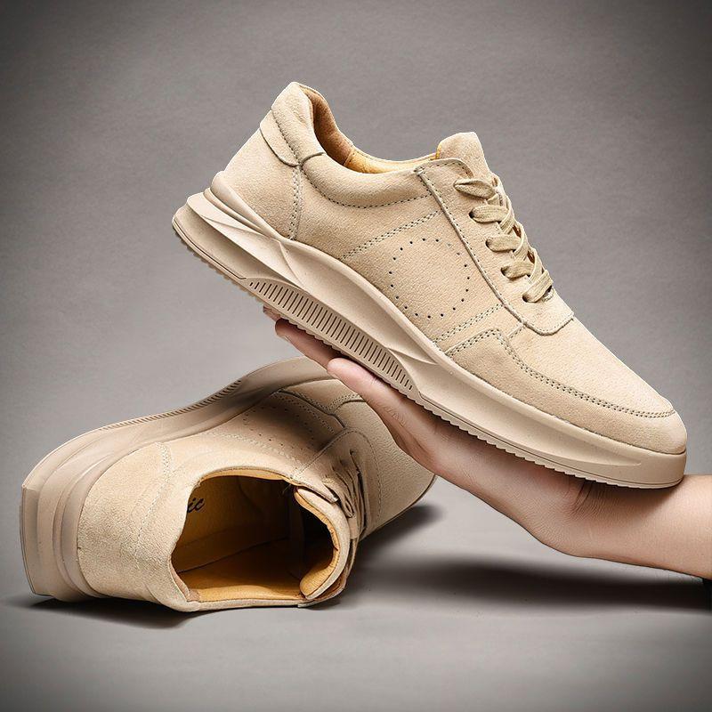 الخريف والشتاء النمط البريطاني أحذية رجالي عادية منخفضة أعلى تنوعا الجلود الرياضة أحذية رسمية