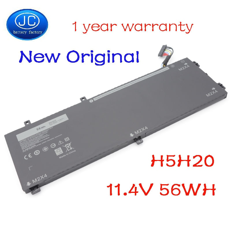 JC Original H5H20 Laptop Battery For DELL XPS 15 9560 9570 15-9560-D1845 Precision M5520 5530 62MJV