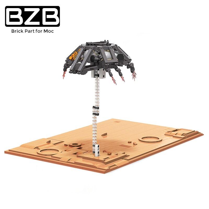 BZB MOC النظام الشمسي الكوني المريخ روفر الطيران إطلاق صاروخ الكشف العلمي المريخ القديمة الأطفال هدايا عيد اللعب