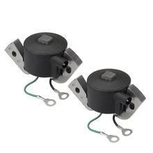 Nuevo módulo de bobina de encendido 2X, bobina de encendido fuera de borda de Motor Evinrude para Johnson, reemplazo de plástico y Metal 584477 0584477 582995