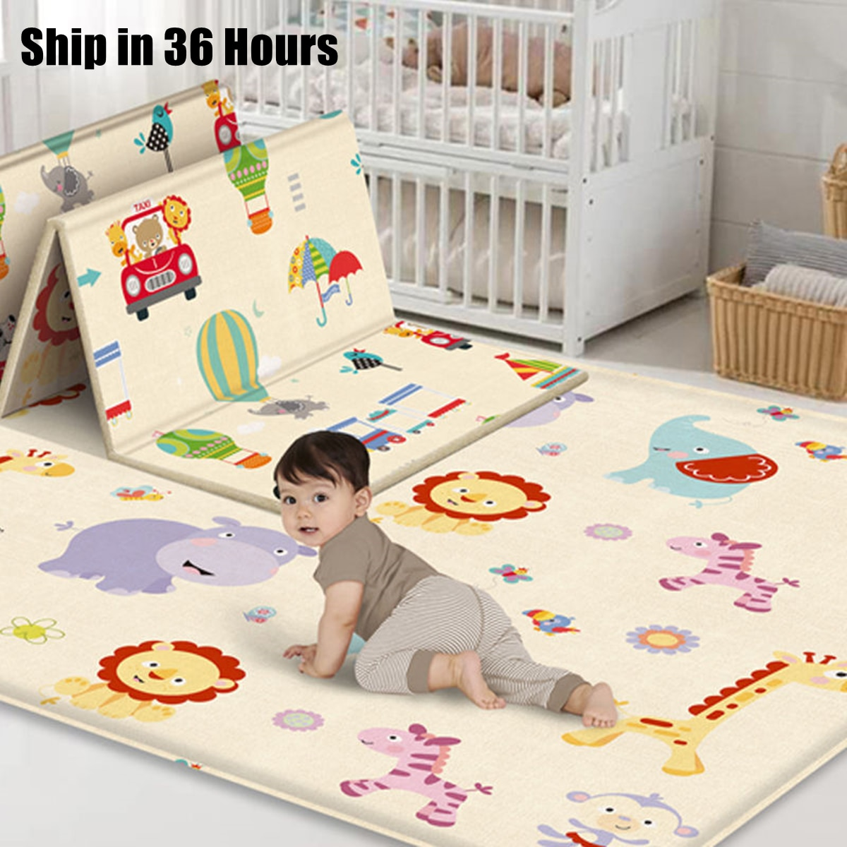 baby developing mat for newborn non toxic soft xpe foam baby climbing pad foldable activity gym for children playground kids rug Foldable Cartoon Baby Play Mat Xpe Puzzle Children's Mat Baby Climbing Pad Kids Rug Baby Games Mats Toys for Children 180*100cm
