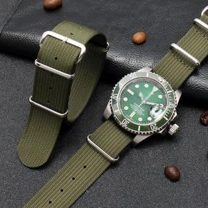 Ремешок для часов Rolex SEIKO IWC PILOT Series, ремешок для часов с застежкой, аксессуары для часов, зашифрованный нейлоновый браслет для часов, цепочка
