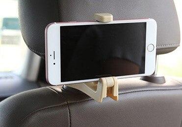 Colgador de respaldo creativo oculto para coche soporte para teléfono móvil coche multifunción parte trasera soporte de teléfono para coche soporte de teléfono con gancho