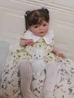 60cm reborn baby dolls for children toys reborn doll with cute clothes kit reborn reborn baby doll real baby toys for girls