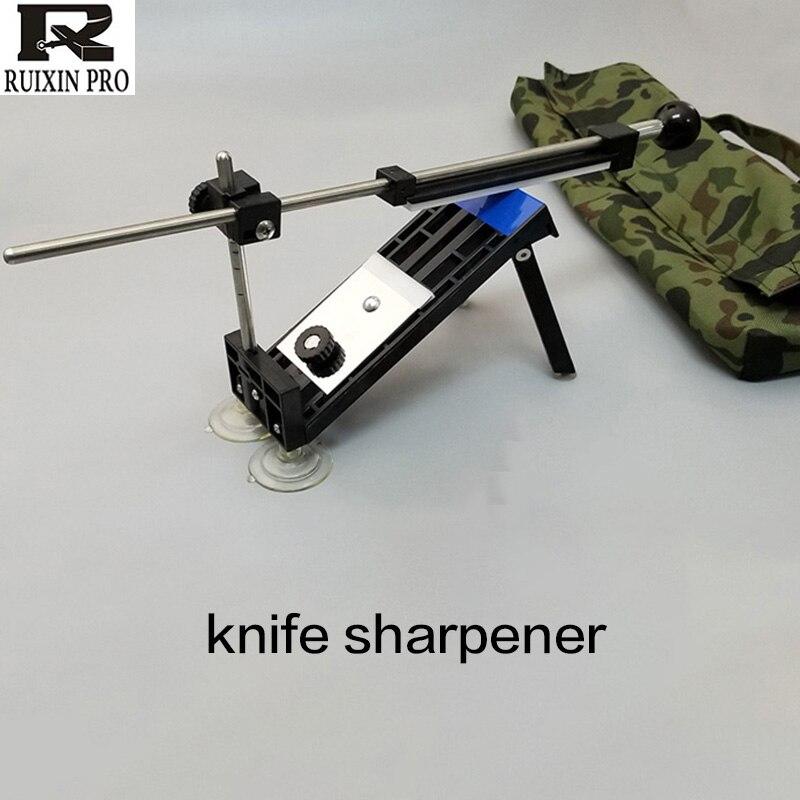 Afilador angular fijo profesional para cuchillos de cocina, con piedras de alta calidad