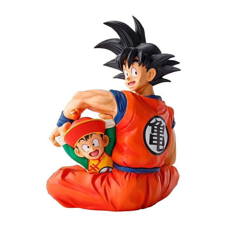 DBZ Goku & Gohan Ichibansho 15 см ПВХ фигурка Ainme фигурка героя манга сентябрь 2021 Новинка