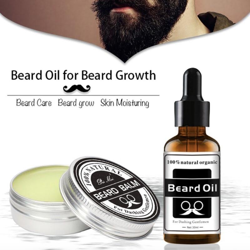 Aceite De Aceite Para el crecimiento De la Barba, Aceite De bálsamo...
