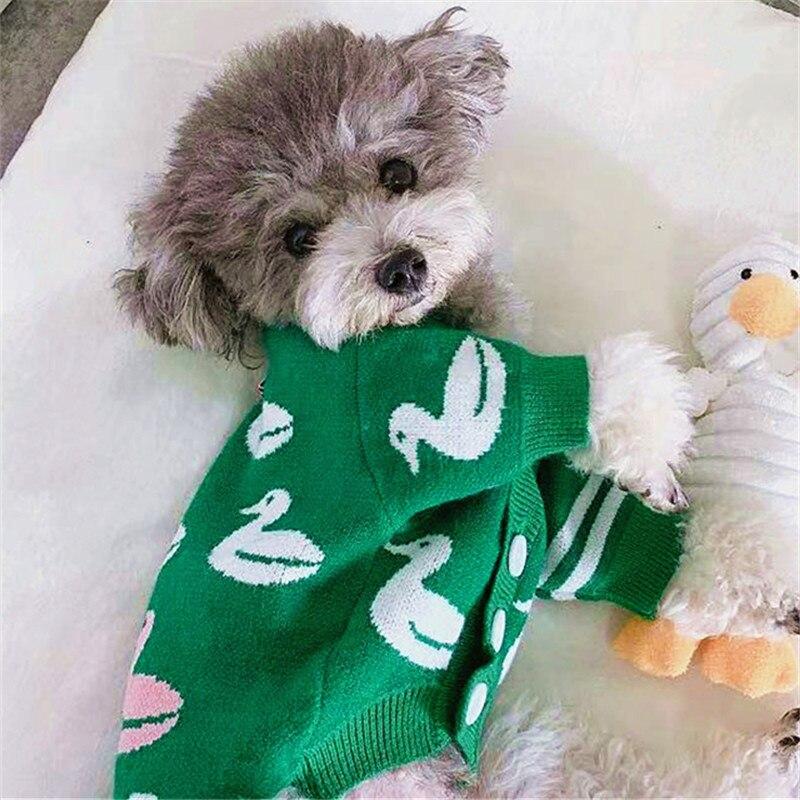 Roupas para Cães de Estimação Roupas de Cachorro Gato Cachorro Camisola Cardigan Inverno Cabolsa Yorkshire Pomeranian Poodle Bichon Schnauzer Traje Outfit