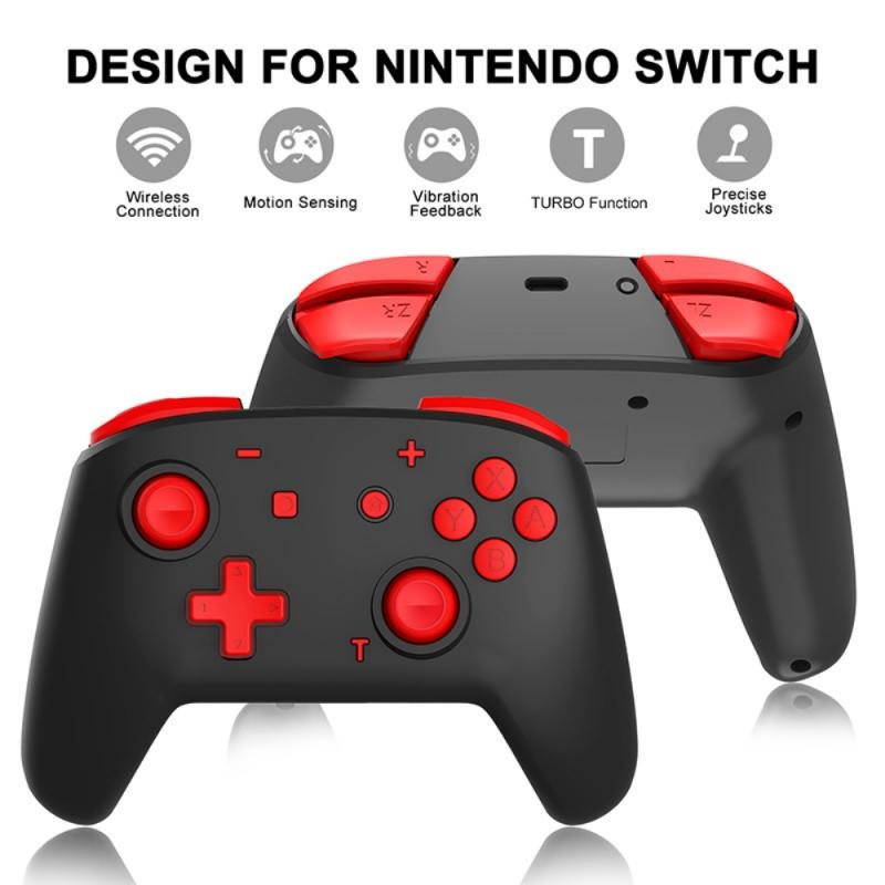 New Bluetooth Pro Gamepad Wireless Gamepad Video Game USB Joystick Controller Control For N-Switch NS-Switch NS Switch Console enlarge