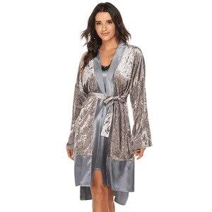 Женская атласная ночная рубашка, Сексуальная кружевная Пижама, халат, женская ночная рубашка, юката, ночная рубашка, одежда для сна, рубашки, пижама, женское белье