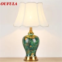 brother ceramic table lamps desk luxury modern contemporary fabric for foyer living room office creative bed room hotel