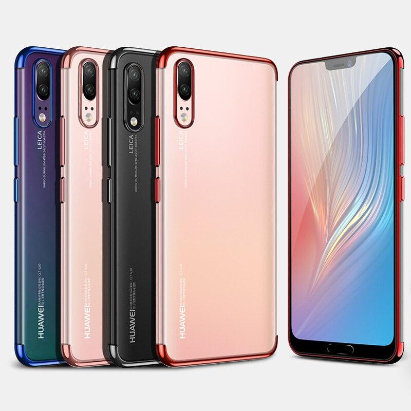 Plating Soft Cases for Xiaomi Mi 9T Pro CC9 9e 9 9 SE Redmi Note 10 K20 Pro A3 Lite Case Transparent Anti-knock TPU Cover Funda