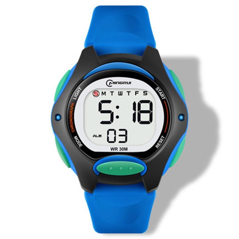 UTHAI CE13 Kids Children's Watch Digital WristWatch for Boy Girl Waterproof Sports LED Watches waterproof Luminous New 2020 gift