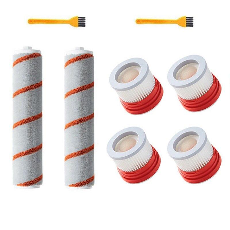 تناسب ل شاومي دريمي V9 V10 V11 مكنسة كهربائية اكسسوارات Hepa تصفية الأسطوانة فرشاة تنظيف فرشاة أجزاء عدة ، 8 قطعة