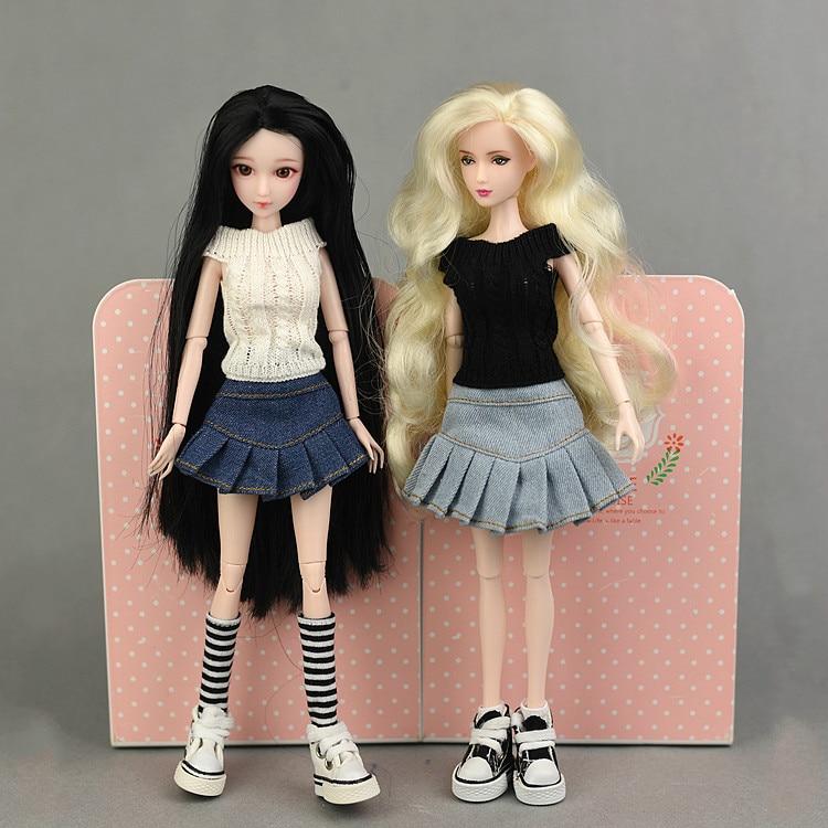 1 Uds falda hecha a mano ropa para Barbie Blyth 1/6 BJD...