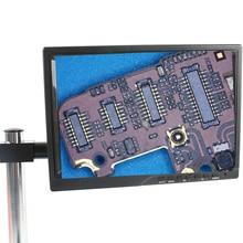 Moniteur industriel moniteur daffichage à cristaux liquides dips de 10.1 pouces + support de support de 25mm ou de 33mm pour le Microscope vidéo de Microscope stéréo
