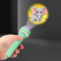 projector torch kids flashlight story book early educational light up toys sleep light preschool fairy tale projection lamp gift