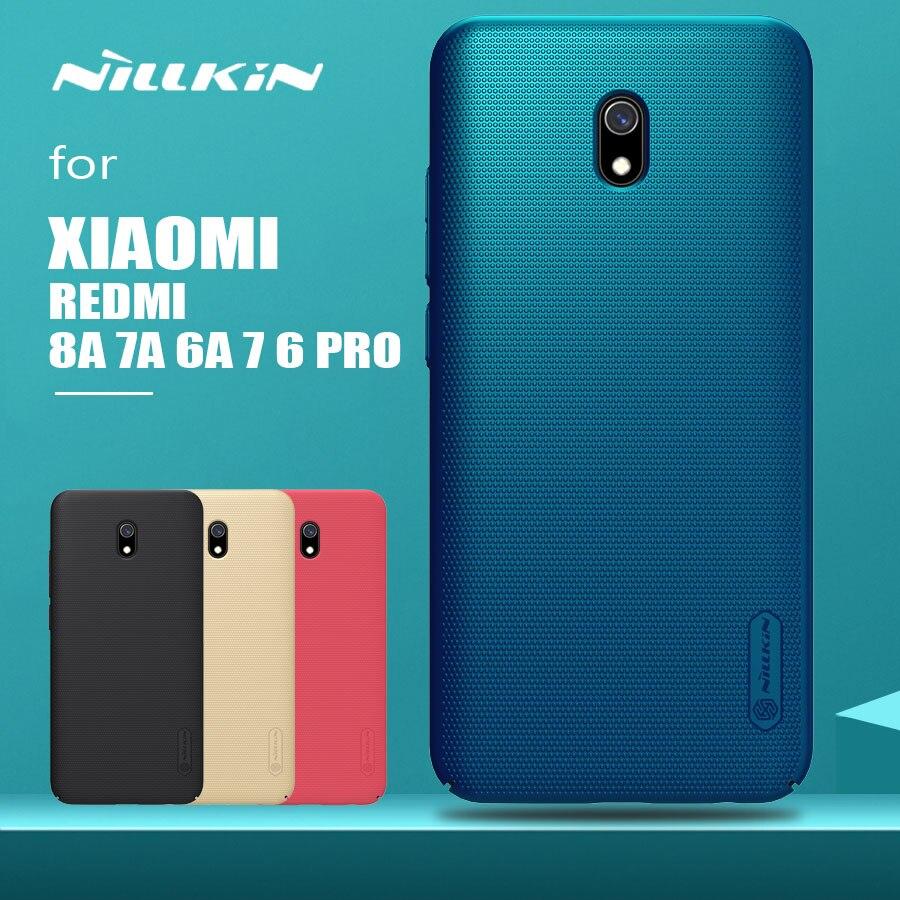 for Xiaomi Redmi 8A 7A 7 6A 6 Pro Case Nillkin Frosted Shield Hard PC Back Cover for Xiaomi Redmi 8A 7A 6A 5A 7 6 Pro Phone Case